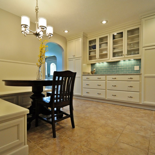 Built-in Banquette and Buffet